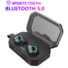 X6 TWS Mini Bluetooth 5.0 Earphones Touch Control Wireless ear buds Headset Stereo Deep Bass Sport Earphone with Charging Case