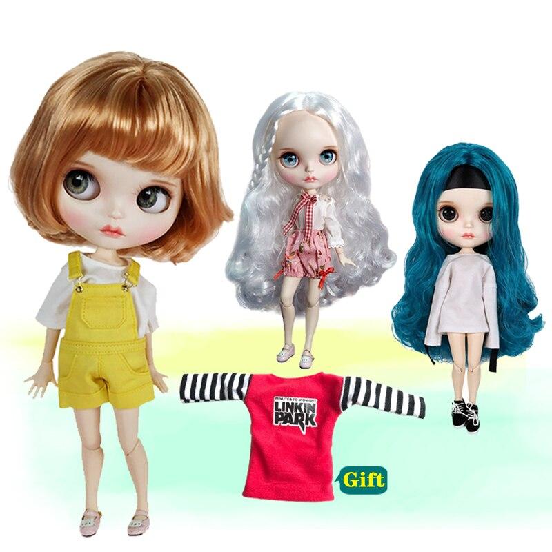 높은 품질 1/6 30 cm 12 inchs blyth 인형 패션 다른 스타일 머리와 옷 놀라운 어린이 장난감 선물-에서인형부터 완구 & 취미 의  그룹 1