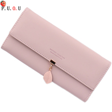 2019 New Brand Designed Women Long Clutch Wallet Large Capacity Wallets Female Purse Lady Coin Purses Phone Card Holder Carteras