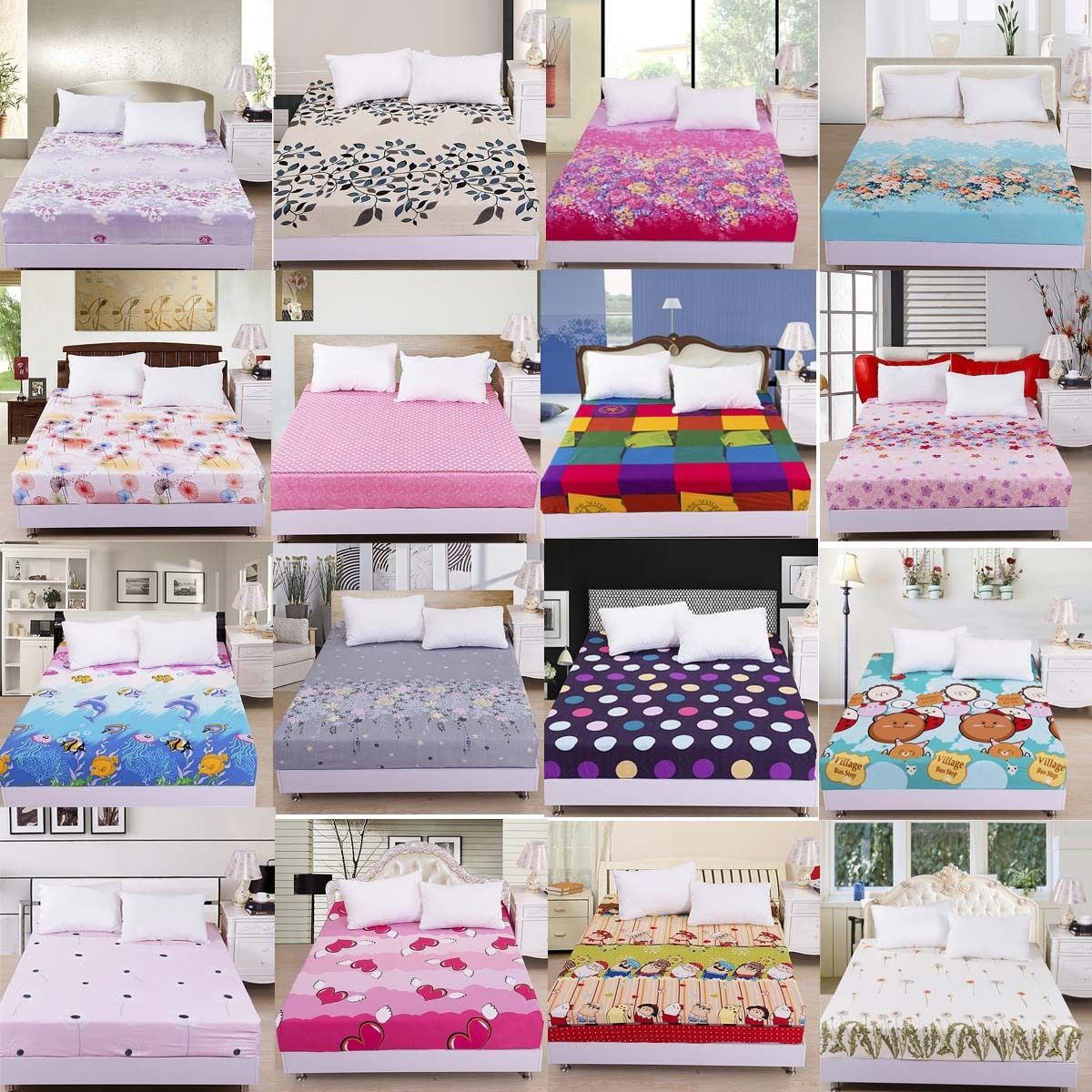 Queen Size Sheet. New King Queen Size Fitted ...