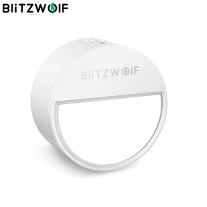 Image 1 - Blitzwolf BW LT10 スマートホーム光センサーナイト 3000 18k色温度 20 ルーメン照明 120 度の角度ナイトランプ