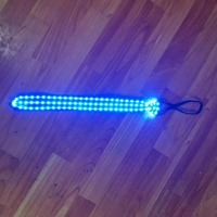 New Design Led Luminous Neck Tie Blue Led Light Up Fashion Tie Party And Dancing Stage Glowing Dance Wear New Year Birthday Gift