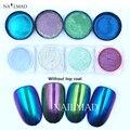 5 ml espelho pó chameleon pigmento duochrome cromo em pó pó de pigmento sereia galaxy glitter pó cor mudando