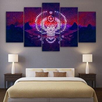 HD מודפס 5 Piece אמנות בד ציור פופ ארט עקרב פוסטרים והדפסים עיצוב קיר בד ציור משלוח חינם