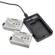 2Pcs DuraPro LP E8 LP E8 LPE8 Camera Battery LCD USB Charger For Canon EOS 550D