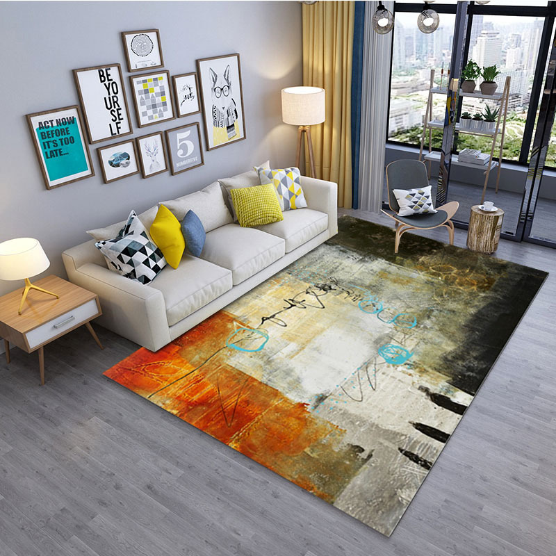 Us 1 71 42 Off Modern Art Retro Flower Carpet For Living Room Bedroom Anti Skid Size Soft Rugs And Carpets 200x300cm Floor Mats In From