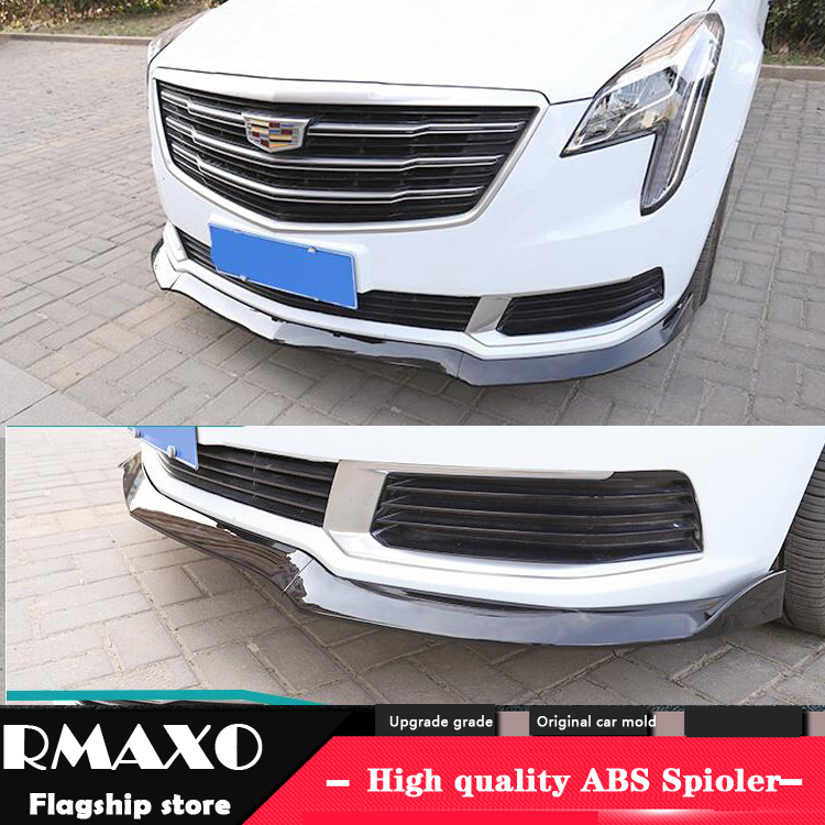 For Cadillac ATS ABS Rear Bumper Diffuser Protector For