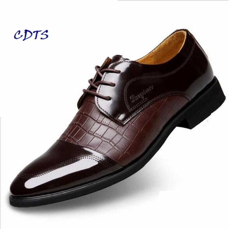 Hot Sale zapatos hombre high quality Split Leather Breathable Men Short Plush shoes Dres ...