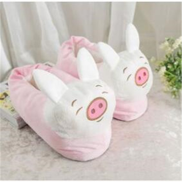 937723373d3 Mvp Boy Winter Home Warm Paw Plush Slippers Thermal Cotton Soft Funny Animal  Christmas Monster Claw