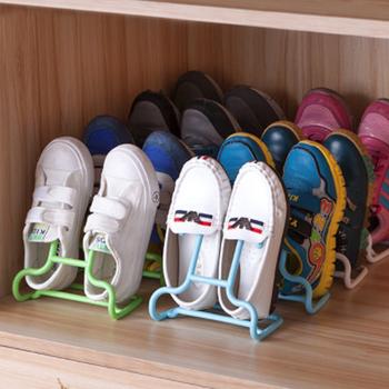 10 sztuk zestaw kreatywny wielofunkcyjny stojak na buty dzieci buty dziecięce stojak półka wisząca suszenie wieszak na buty Rack Save Space Organizer tanie i dobre opinie CN (pochodzenie) Uchwyt na buty Multi-Function Shoe Rack 15 5 x 10 x 17cm White Green Blue Pink Drop-shipping