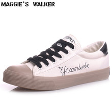 Maggie's Walker Spring And Summer Men's Lacing Canvas Platform Shoes Trendy Canvas Casual Shoes Fashion Casual Shoes Size 39~43