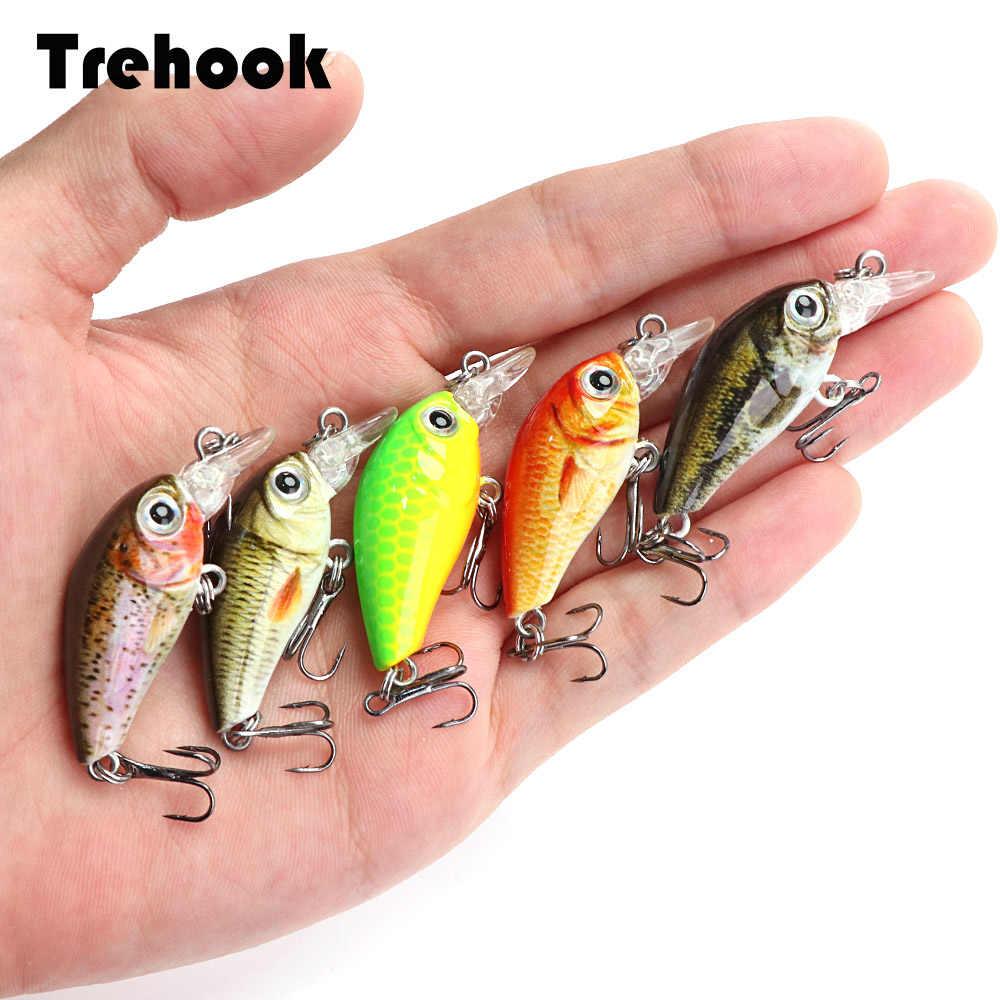 3.6cm 3.6g realistyczne Mini Crankbait Fishing Lure Minnow Wobblers Pike Fishing crankbaity Bass Top woda przynęty twarda przynęta Jerkbait