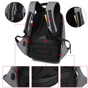 Image 4 - Рюкзак KAKA с защитой от кражи и USB портом для мужчин и женщин, водонепроницаемый деловой модный ранец для ноутбука 15,6 дюйма, школьный портфель