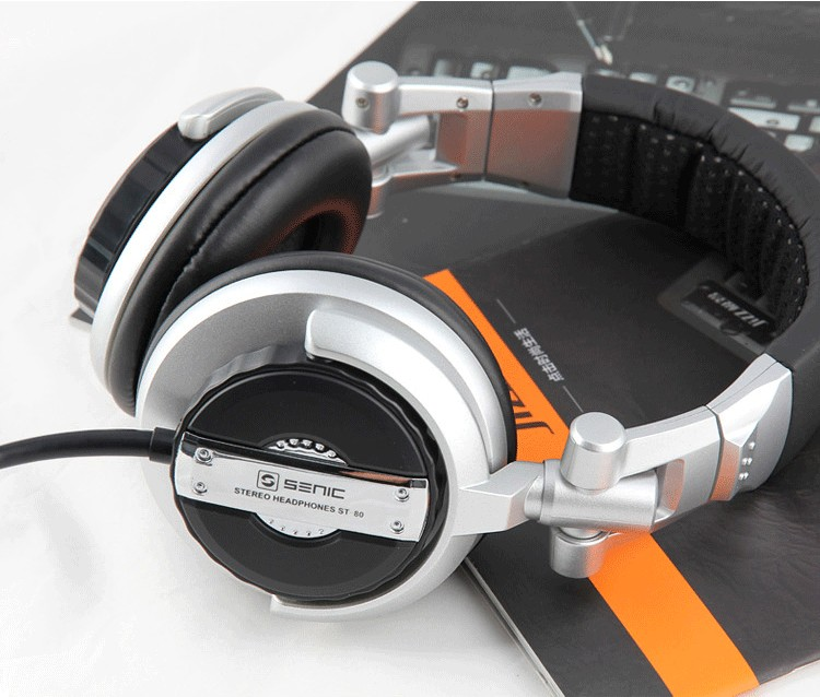 Foldable Professional Monitor Music Hifi Headphones Somic ST-80 Super Bass Noise-Isolating DJ Headset Without Mic Stereo Earphones (10)