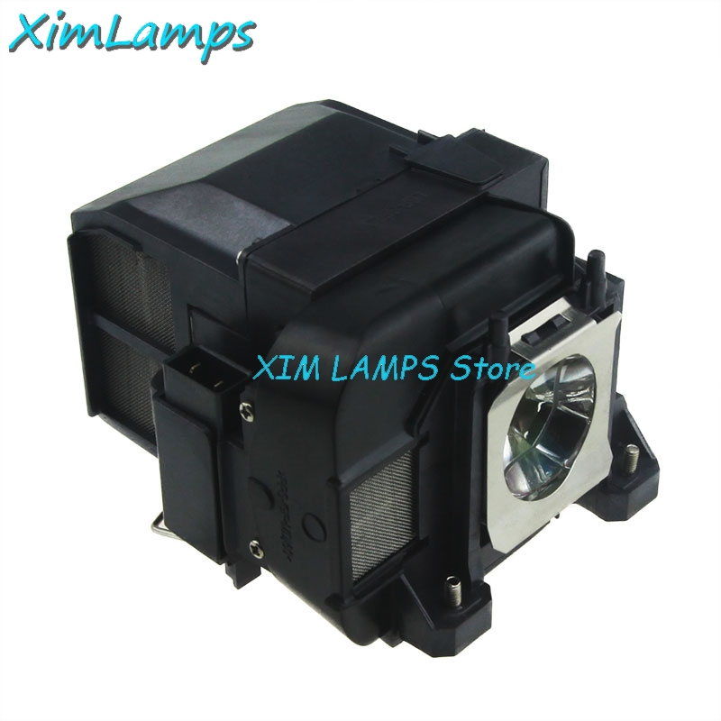 XIM Lamps ELPLP74 Compatible Projector Lamp with Housing for EPSON PowerLite 1930 EB-1930 EB-1935 EMP-54 EMP-74 elplp74 for eb 1930 powerlite 1930 powerlite 1935 compatible lamp with housing free shipping