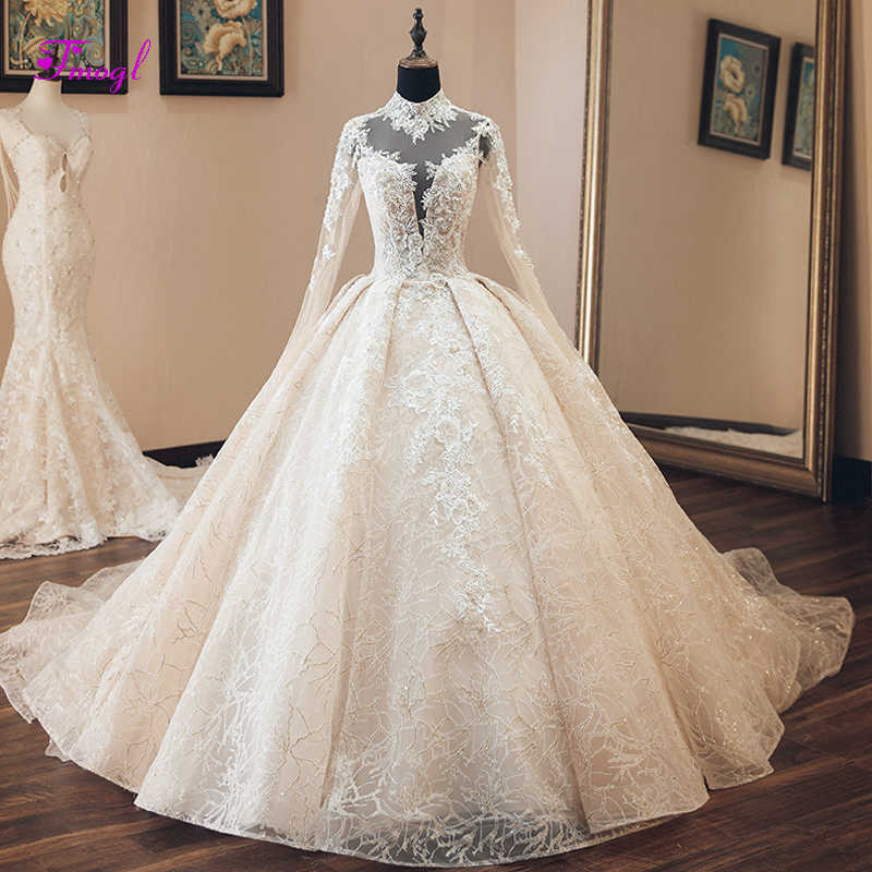 45a912085b Detail Feedback Questions about LSS445 luxury muslim wedding dresses ...