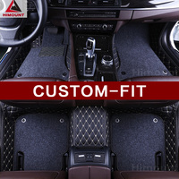 Custom fit car floor mats for Ford Fiesta Mk7 Mondeo Edge Explorer Everest all weather heavy duty car styling carpet rug liners