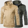 New winter men's double collar large yards speed sell tong men jacket