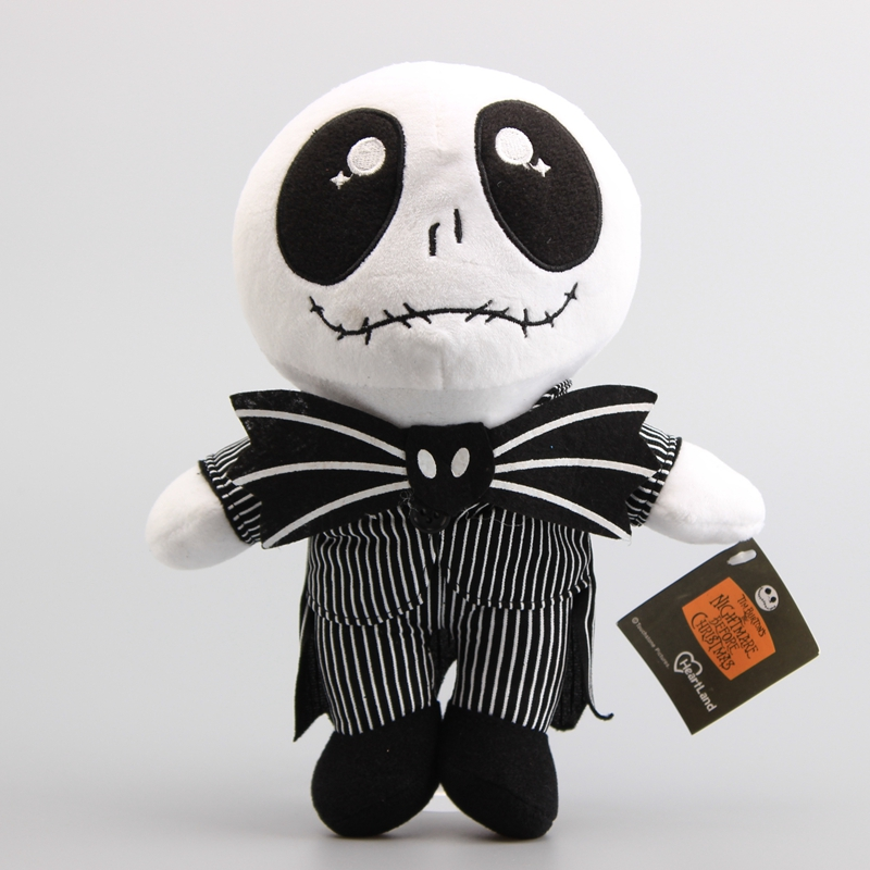 aliexpresscom buy hot sale 10 25 cm nightmare before christmas jack skeleton plush toy stuffed dolls children soft toys gift from reliable skeleton