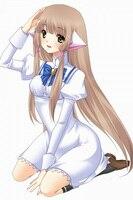 Chobits Chii White Cosplay Dress Free Shipping