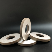 50*20*6 piezoceramic ring 50*20*6 electrical piezo ceramic ring plate