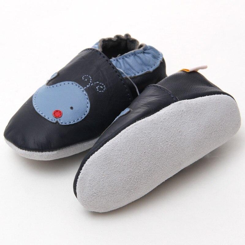 Leder Babyschuhe junge Baby Mokassins Tier Kinder Kleinkind Schuhe - Babyschuhe - Foto 4