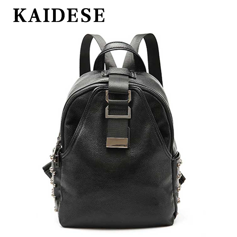 KAIDESE European and American Street Fashion Shoulder Bag 2018 new leisure lady Travel Backpack Korean college wind chest bag 2016 new backpack college wind leisure travel fashion leather shoulder bag doubles