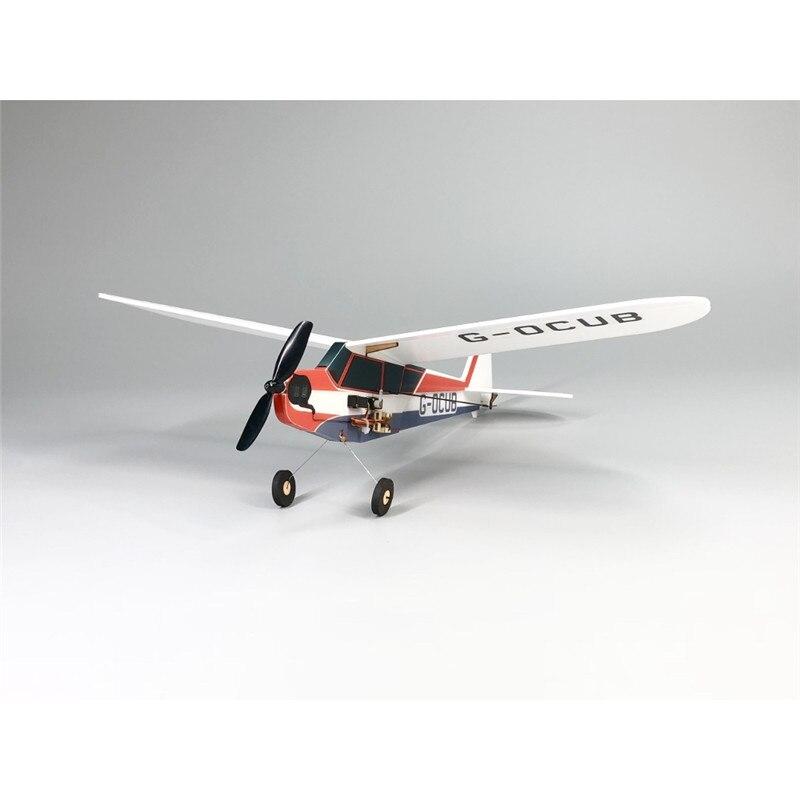 J3-Cub minimumrc bankyard flyer 360mm wingspan avião kit pnp