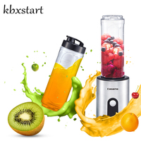 Kbxstart 600ml Electric Blender Mixer Portable Mini Juicer Juice Machine Smoothie Maker Household Small Juice Cup Extractor 220V