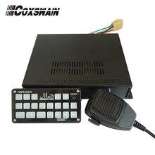 NMS400W) Автомобильный Электронный полицейской сирены с памятью Функция, 7 светильник переключатели 400 Вт автомобильный усилитель акустическая система, 6 тонн(сирена только