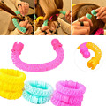 8pcs/set Donuts Curly Hair Curlers Roller Hair Styling Tools Beauty Spiral Ringlets Hair Accessories