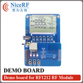 DEMO Board For RF1212 Wireless RF Module For Free Shipping
