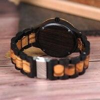 Reloj madera para hombre pulso madera 4