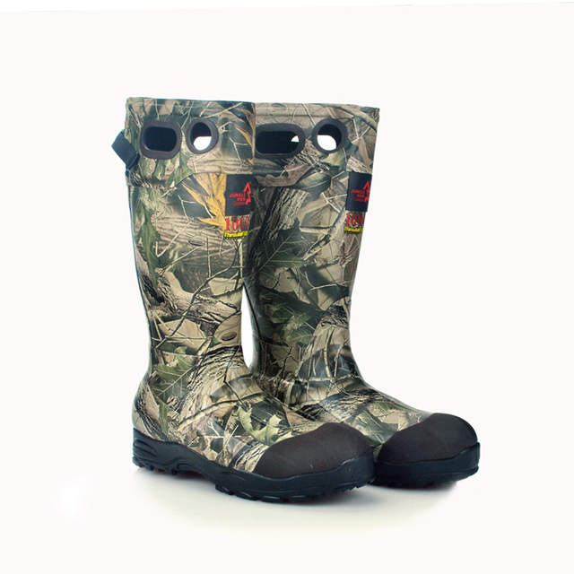 Zapatos de pesca de caza de marca botas de goma antideslizantes de invierno  zapatos de caza c173c0ae73841