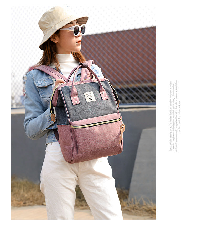 HTB1oX.GPHvpK1RjSZPiq6zmwXXa4 2019 Korean Style oxford Backpack Women plecak na laptopa damski mochila para adolescentes school bags for teenage girls