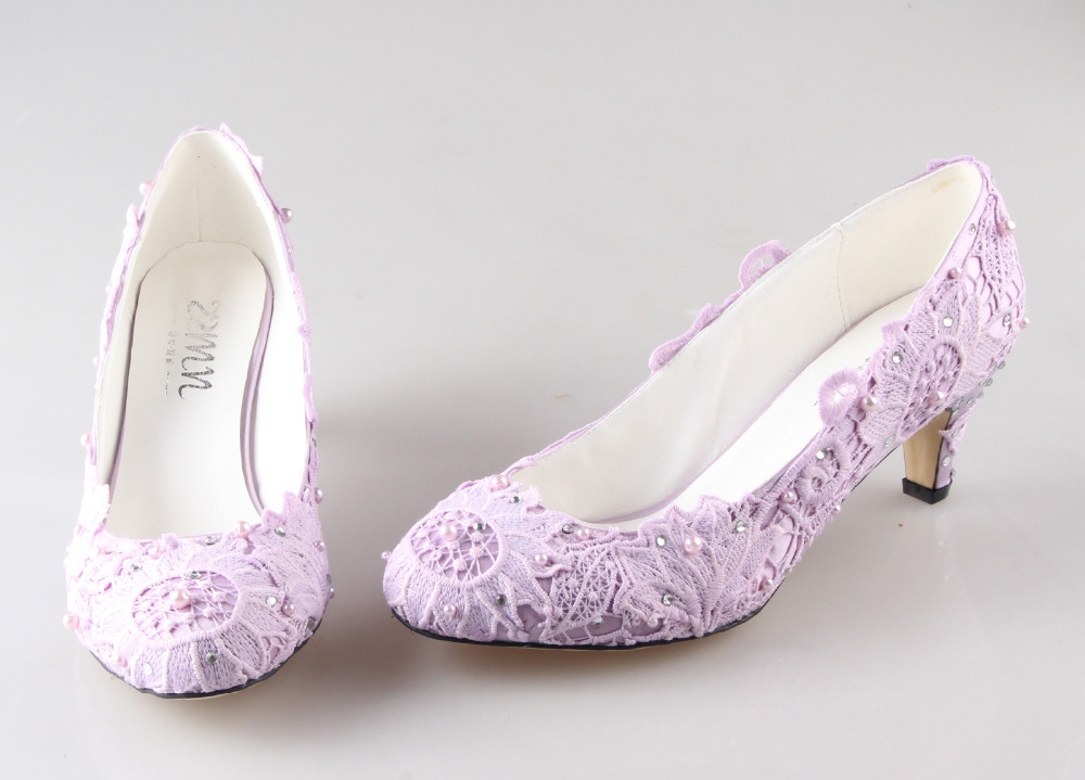Light purple wedding heels images for Heels for wedding dress