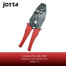 Купить с кэшбэком WX-35WF crimping tool crimping plier 2 multi tool tools hands Ratchet Crimping Plier (European Style)