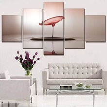 Canvas Pictures Home Decor HD Printed Poster 5 Piece Water Drop Art Reflection Paintings For Living Room Wall Framework