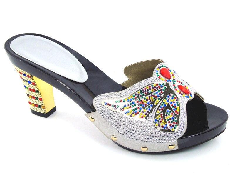 ФОТО Most Popular African High Heels Open Toe Shoes Woman High Heels African Sandals Shoes  DG1-5