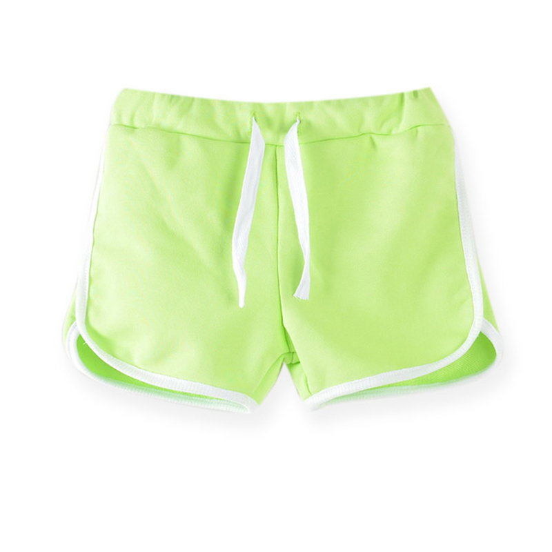 3-13Yrs Kids Shorts Boys Girls Summer Sport Shorts Pants Unisex Children Candy Color Casual Short Pants Trousers Bottoms 3