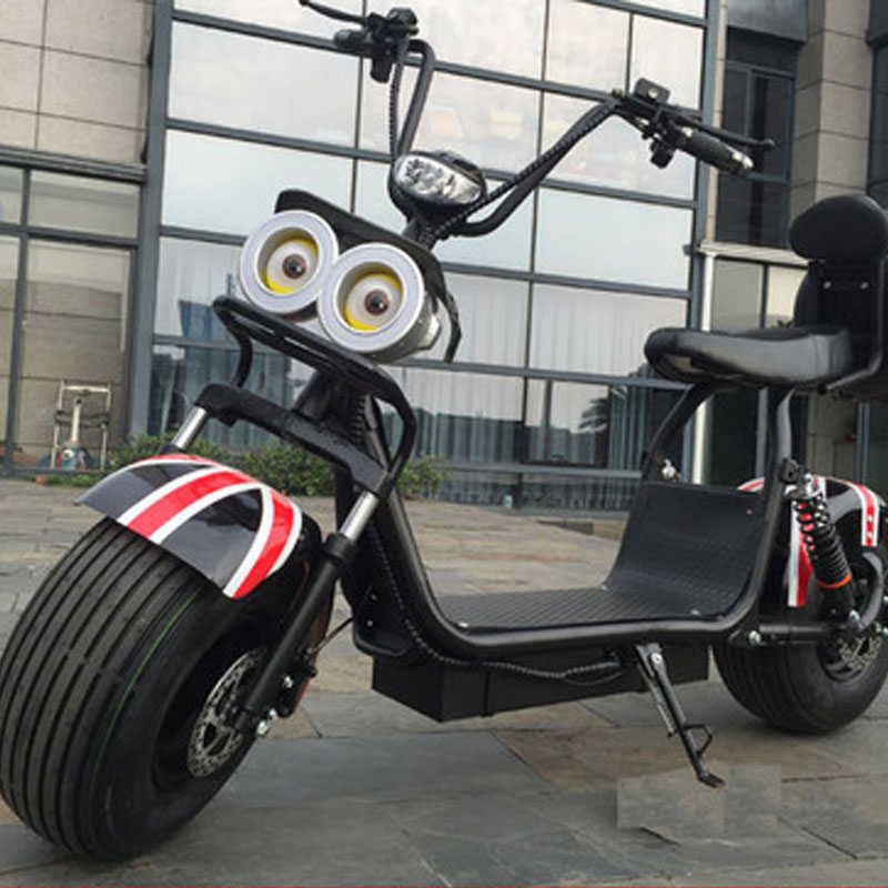 Big 2 Wheel New Harley <font><b>Electric</b></font> Vehicle Adult Pedal <font><b>Electric</b></font> <font><b>Bicycle</b></font> Motorcycle Scooter With Seat Mileage 40km <font><b>1500W</b></font> image