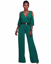 5f1388e9b56b Londinas Ark Store Summer Jumpsuit Women Body Feminino V-Neck Overalls Loose  Fashion Full-