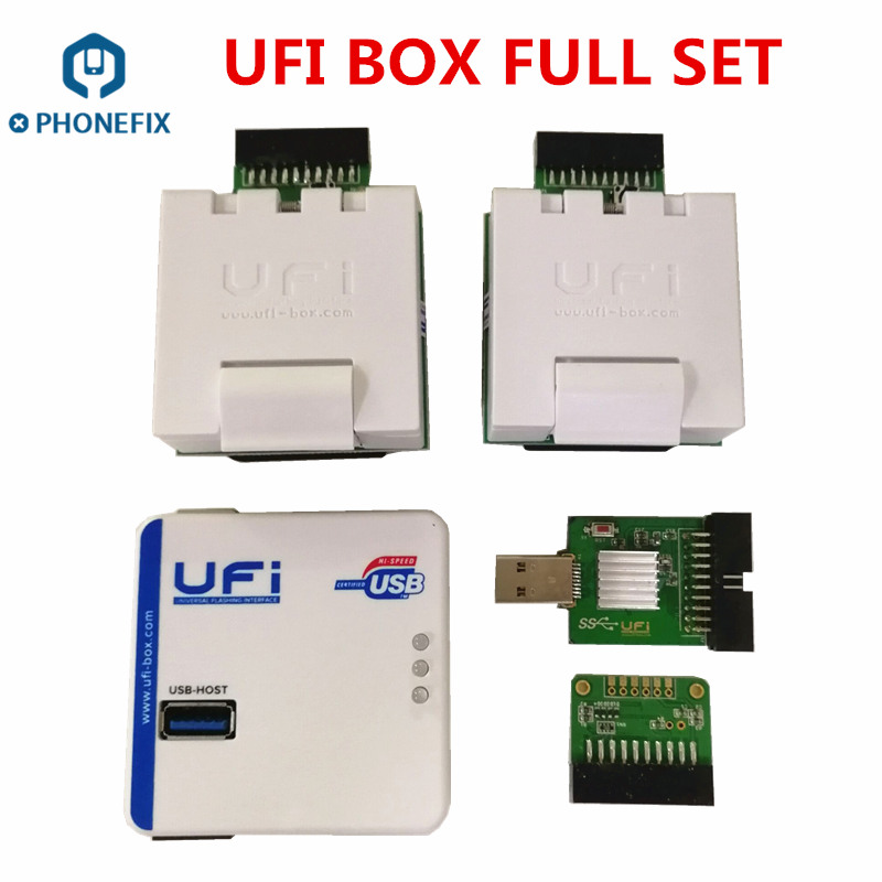 PHONEFIX UFi Box EMMC Service Tool EMMC User Data Read Write Resize Format Erase Update Repair Tool For Samsung China Phone