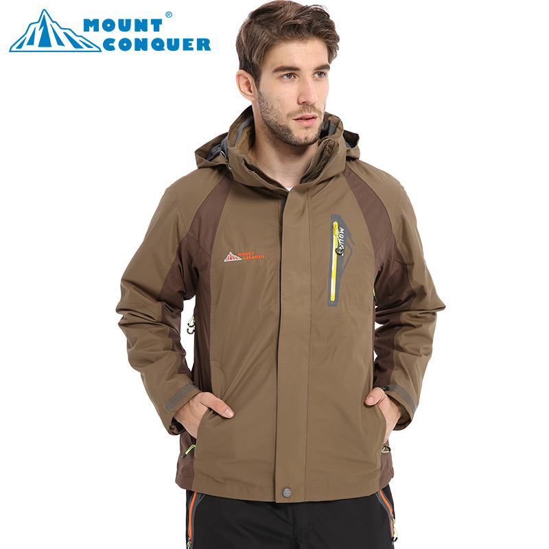 Free ShippinHigh Quality Waterproof Men's Ski Jacket Outdoor Hiking Or Camping Jacket Snow Jacket For  Male Winter Thermal Coat