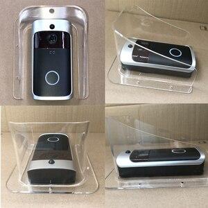 Image 3 - Osłona przeciwdeszczowa uniwersalny typ wizjer wbudowaną kamerą WI FI wodoodporna pokrywa dla Smart IP wideodomofon bezprzewodowy dostęp do internetu wideo telefon drzwi dzwonek do drzwi cam