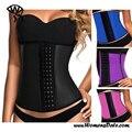 Symrun 2017 de las mujeres de cintura de látex body shaper fajas cintura delgada mujeres tummy tuck cintura delgada de la correa