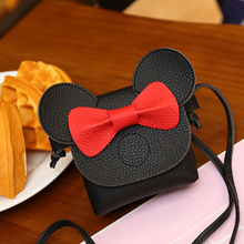 Mickey Minnie Children's casual Bag Kids Bags Cute cartoon Mini Crossbody Bag for Girls Baby Birthday Gift Sac A Main