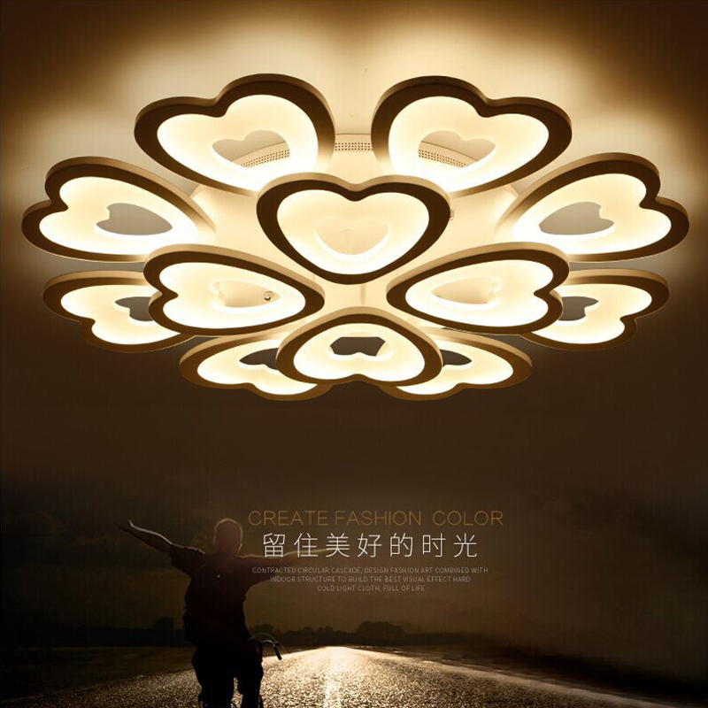 Modern Led Ceiling Lights Fixtures Lamparas De Techo Wireless Bedroom  Acrylic Lamp Plafonnier Design Kitchen Light