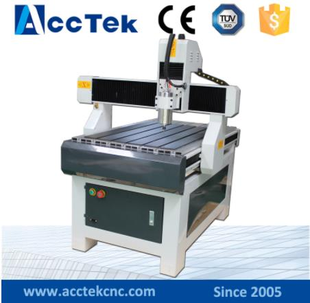 Mini Cnc Router Advertising 3axis Cnc Router DSP Controller , Cnc Router AKM6090