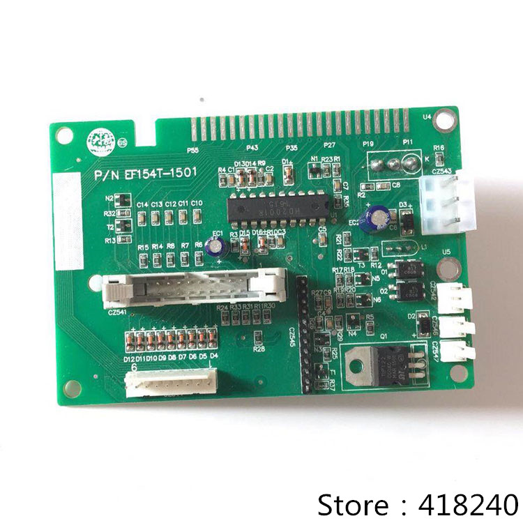 Computer Embroidery Machine Accessories EF154 Two Bit Alarm Board Circuit Head Card Electronic Spare Parts Thread Break Detect